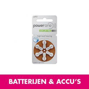 Batterijen en accu's